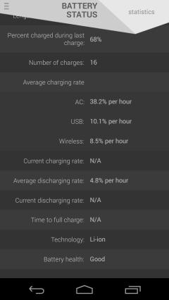 battery status screenshot 4