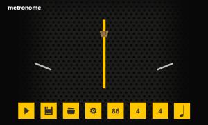 metronome visual indicator