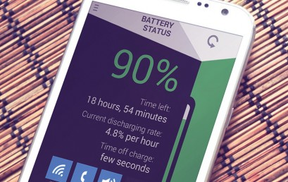 Battery Status update with cool new features